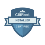 ClifRock Certified Installer Badge